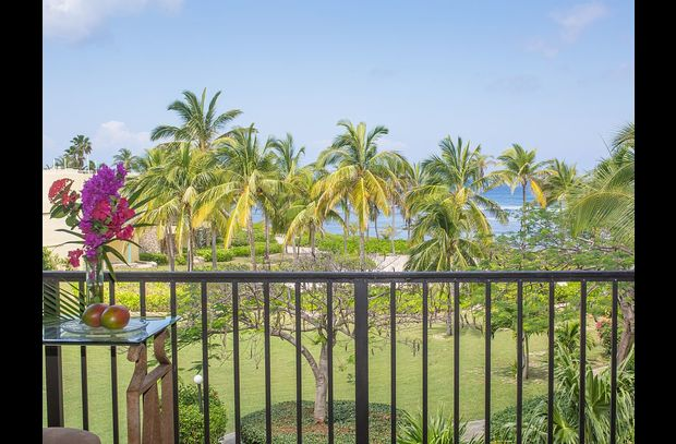 Relish the view of the Caribbean while listening to the waves and the palm trees